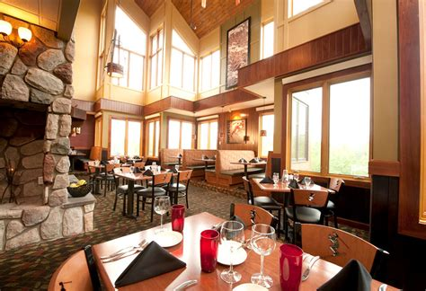 highlands tap room area dining guide lutsen mountains
