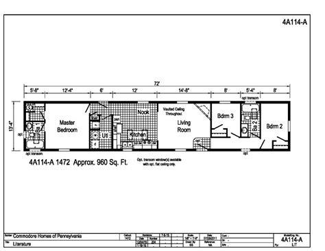 100 16 wide mobile home floor plans top 4