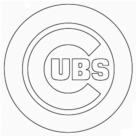 chicago bears logo page coloring pages