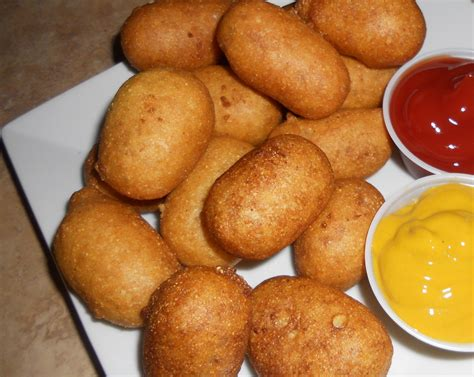 mini corn dogs babblings and more feature friday s kitchen creations