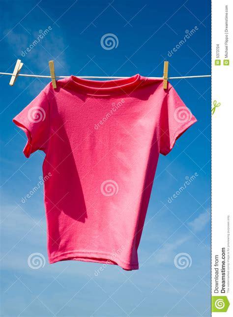 Hangging 2in1 Set Denim Pink a pink t shirt stock images image 5373704