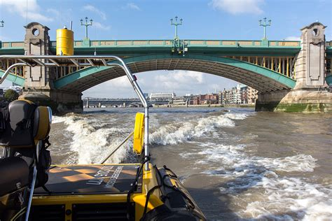fast boat down thames the thames rib experience high speed boat trip london