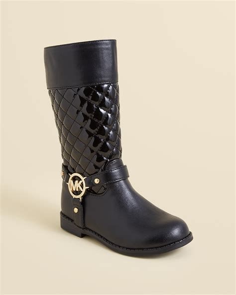 michael kors children s boots michael michael kors quilted boots toddler