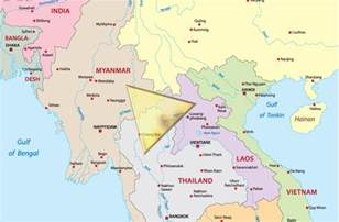 golden triangle map southeast asia war what exactly is the golden triangle