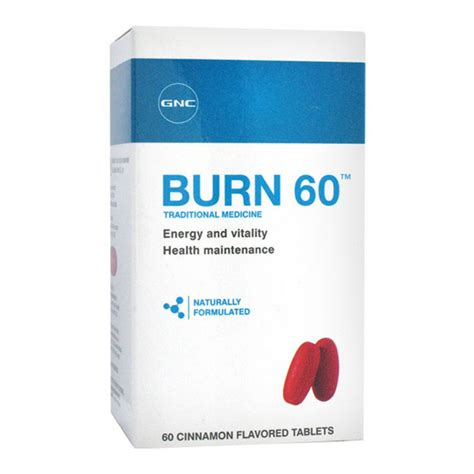 weight management gnc gnc burn 60 60 tabs weight management