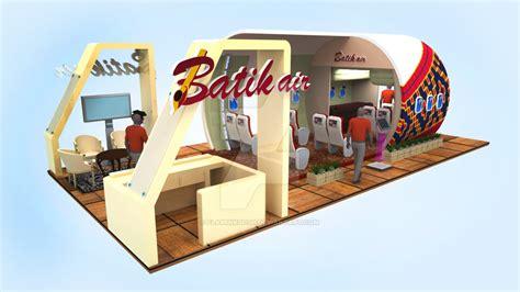 batik air bandung booth island event batik air bandung 2014 by flaminkgosh