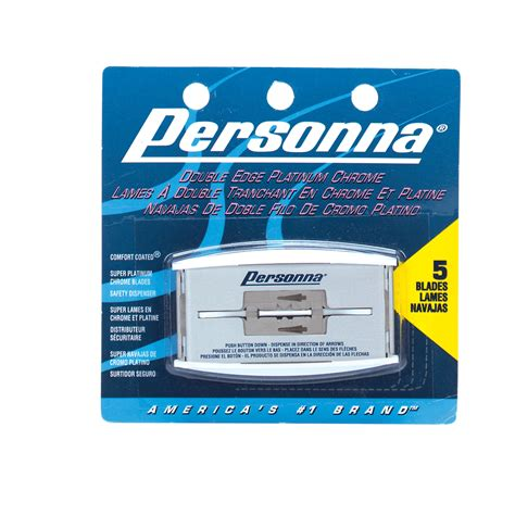 personna comfort coated personna double edge blades