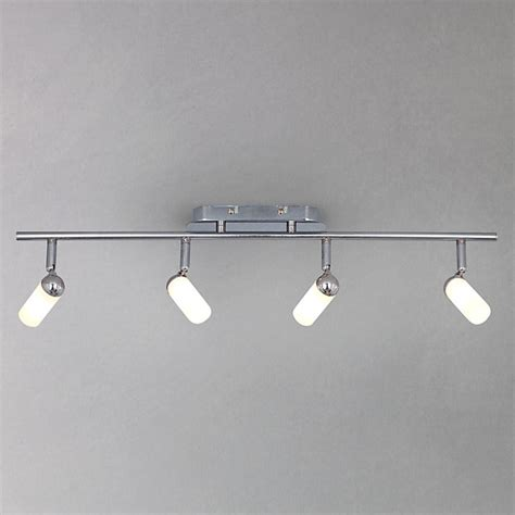 Bathroom Track Lighting Riva 4 Bathroom Spotlight Ceiling Bar Modern Track Lighting Kits By Lewis