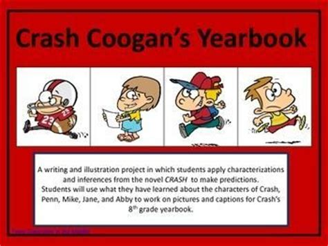 Crash By Jerry Spinelli Worksheets by A Project Inference And Student On