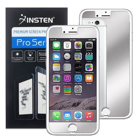Iphone 7 4 7 Inch B W iphone 7 protector by insten mirror lcd screen protector