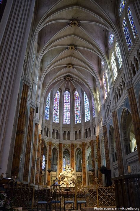 Gothic Architecture Floor Plan interesting facts about chartres cathedral just fun facts