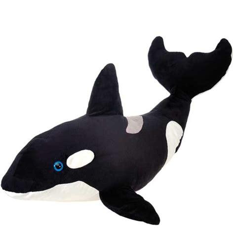 killer whale plush jumbo stuffed orca 40 inch plush killer whale by
