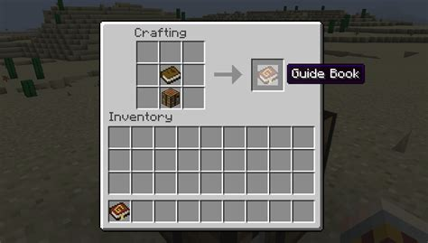 guide book map  information minecraft mods curse