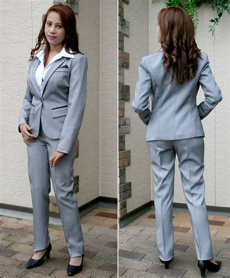 marino pantsuit formal recruitment suit cheap ladies