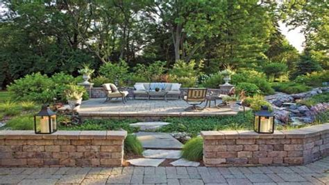 Affordable Backyard Landscaping Ideas Unilock Patio Pavers Back Yard Affordable Landscaping Ideas Northwest Back Yard Landscaping