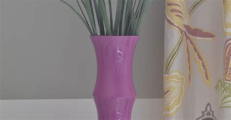 Orchid In Glass Vase by Radiant Orchid Painted Glass Vase Hometalk