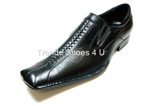 d aldo mens black italian style loafers dress shoes nib