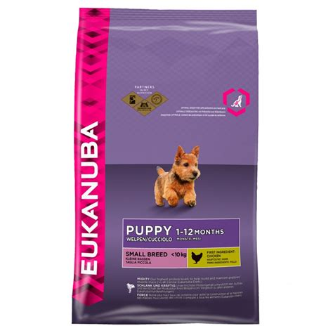 small breed puppy food eukanuba puppy small breed food with chicken 7 5kg