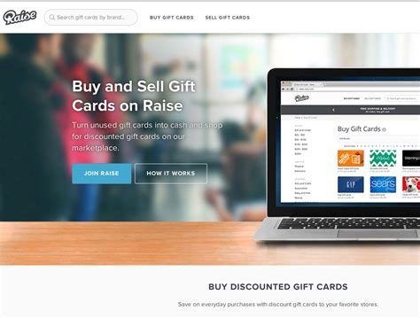 Turning Gift Cards Into Cash - raise turn gift cards into cash appvita