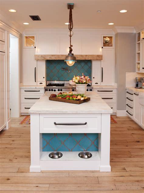 drop lights for kitchen island furniture white mediterranean kitchen design using