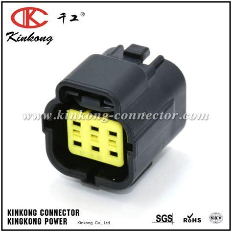 automotive electrical connectors 6 pin waterproof mold automotive electrical