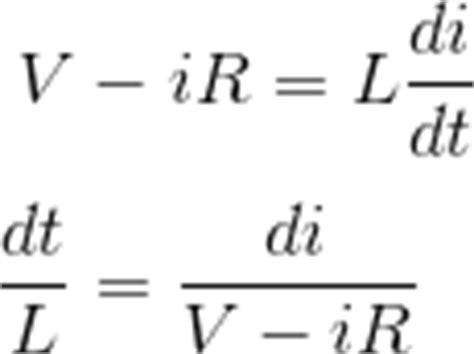 integrating factor rl circuit rl series circuit lekule