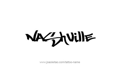 tattoo capital of the us nashville usa capital city name tattoo designs page 3 of