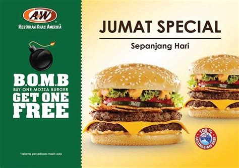 Exp Januari 2016 Buy One Get One Free Ovomaltine Crunchy D a w promo jumat special quot b o m b quot buy one mozza burger get one free katalog kuliner