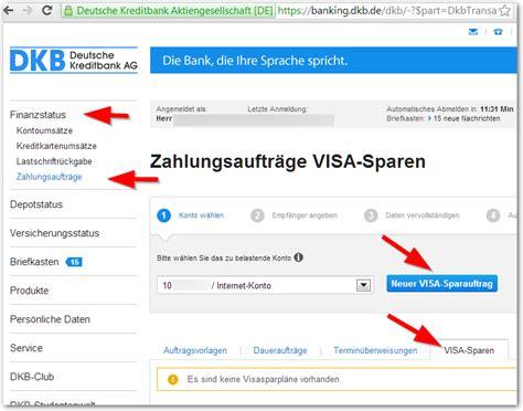 www dkb bank geld dkb giro konto auf dkb kreditkarte 252 berweisen