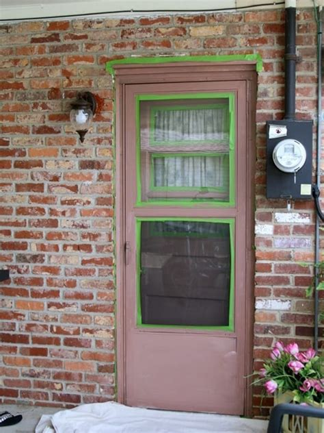 Painting Exterior Metal Door Paint An Exterior Metal Door Like A Professional Petticoat Junktion