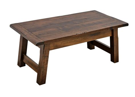 S Coffee Table Settler S Coffee Table Craft Furniture