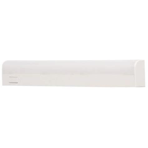 commercial electric 10 in white battery operated led