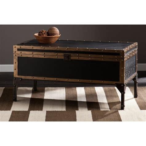 Southern Enterprises Drifton Travel Trunk Coffee Table In Travel Trunk Coffee Table