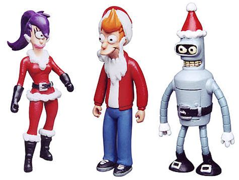 futurama holiday ornaments cs moore studio futurama