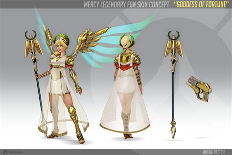 Pm Mersy dashi on quot my fan skin concept for mercy in