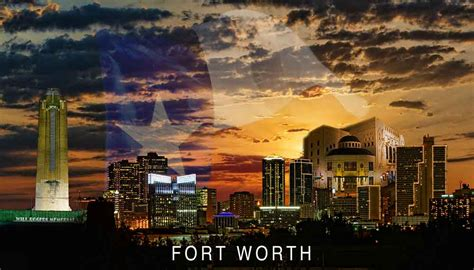 fort worth two new cityscapes warrenharris net