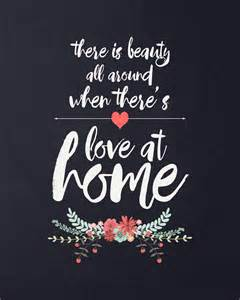 quot love at home quot free quote printable it s always autumn