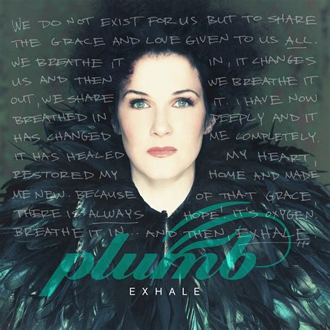 Plumb Reviews by Jesusfreakhideout Plumb Quot Exhale Quot Review