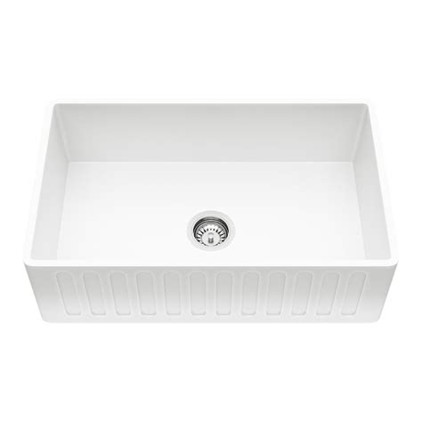 Home Depot Farmhouse Sink by Vigo Reversible Farmhouse Matte 30 In Single Bowl