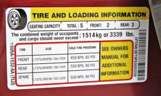 Vehicle Tire Information Placard 10 Things To About Hd Truck Tires Pickuptrucks News