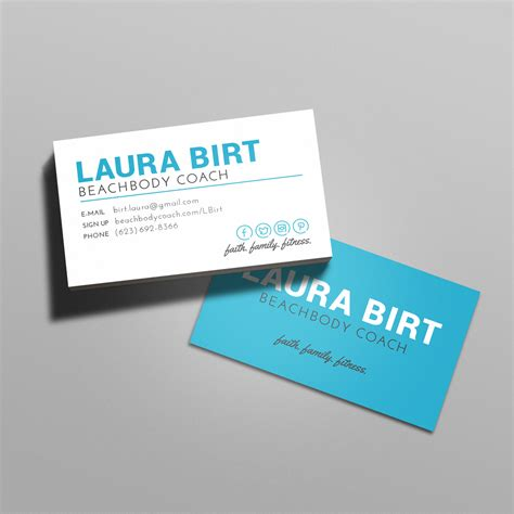 team beachbody business card template beachbody business cards free resume sles writing
