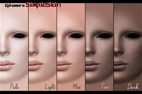 sims 2 skin texture mod the sims my simple skin