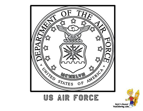 coloring pages  military emblems google search flag
