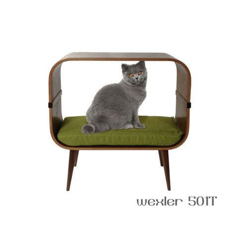 mid century modern cat furniture