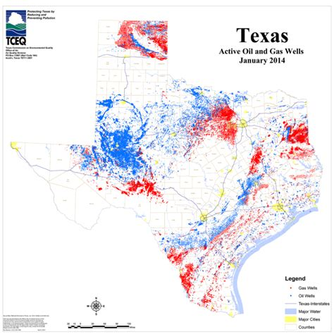 texas field map measuring the heck out of shale gas leakage in texas ars technica
