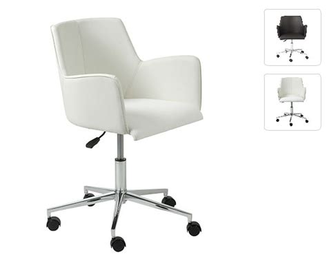 white desk chair santos white office chair office chairs