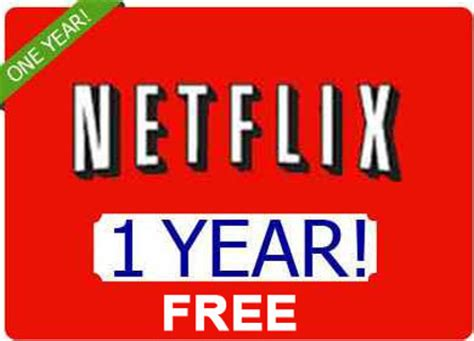 Netflix Gift Card 12 Month - free netflix 12 month voucher certificate dvd gift cards listia com auctions for