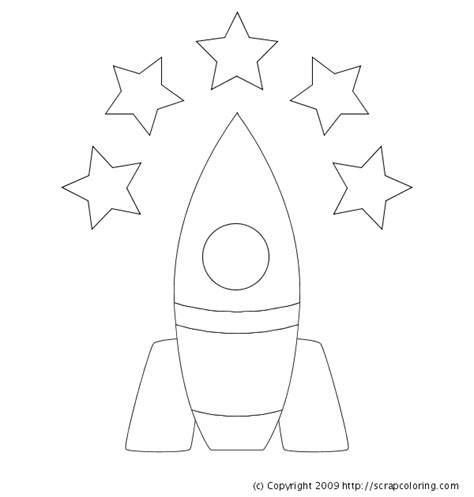 Rocket Coloring Page Rocket Coloring Pages
