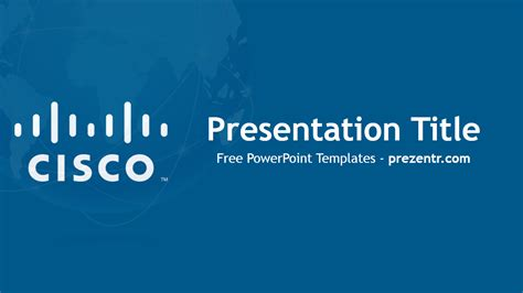 Cisco Powerpoint Template Free Cisco Powerpoint Template Prezentr Powerpoint Templates