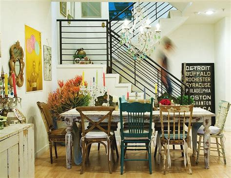 mismatched dining chairs love the farm table and mixed chairs dashing dinning
